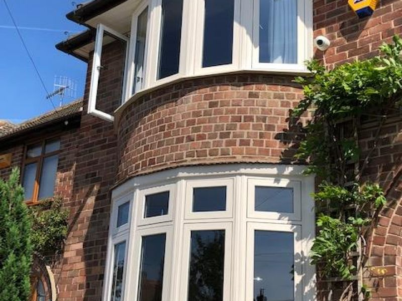 Cream flush sash bays: Swipe To View More Images
